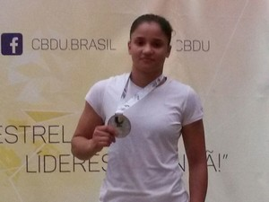 Ennilara Lisboa - judoca jubs (Foto: Ennilara Lisboa/ Arquivo Pessoal)