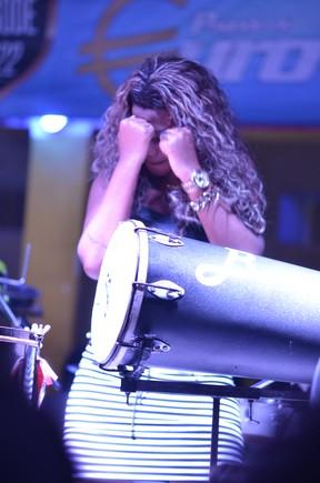 MC Ludmilla em show na Zona Norte do Rio (Foto: Jackson Martins/ Flash2Rec/ Divulgação)