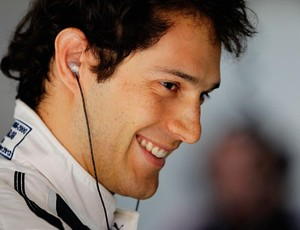 Bruno Senna em Xangai (Foto: Getty Images)