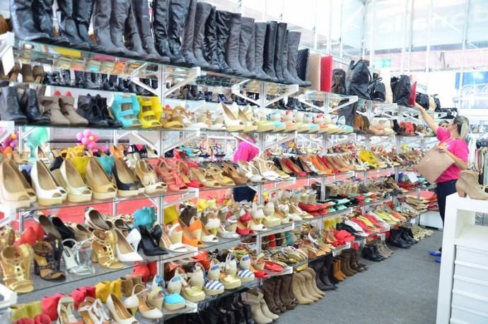 mistura com rodaika feira de sapatos (Foto: Divulgação)