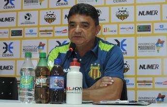 """""""Temos condições de manter o nível"""", diz Flávio após empate contra o CRB"""
