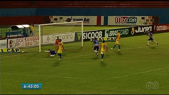 Gilmar marca mais um, mas Itumbiara fica apenas no empate contra o Iporá