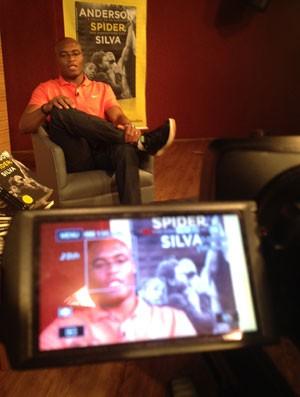 Anderson Silva, UFC (Foto: Sergio Gandolphi / Globoesporte.com)