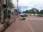 Mãe e filhos são atropelados por adolescente em faixa de pedestres