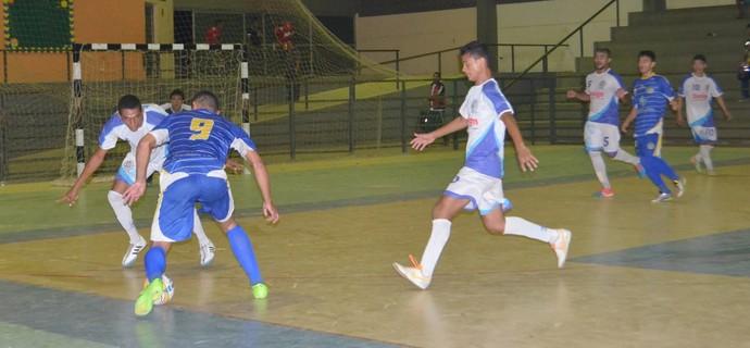 Futsal Sub-20 Roraima, Airton/Casarão e Constelação (Foto: Nailson Wapichana)