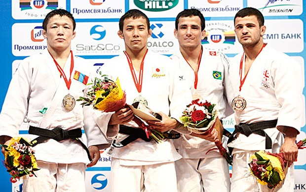 Kitadai é bronze no World Masters