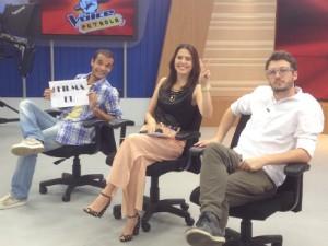 Jurados do The Voice Patrola (Foto: Luísa Konescki/RBS TV)