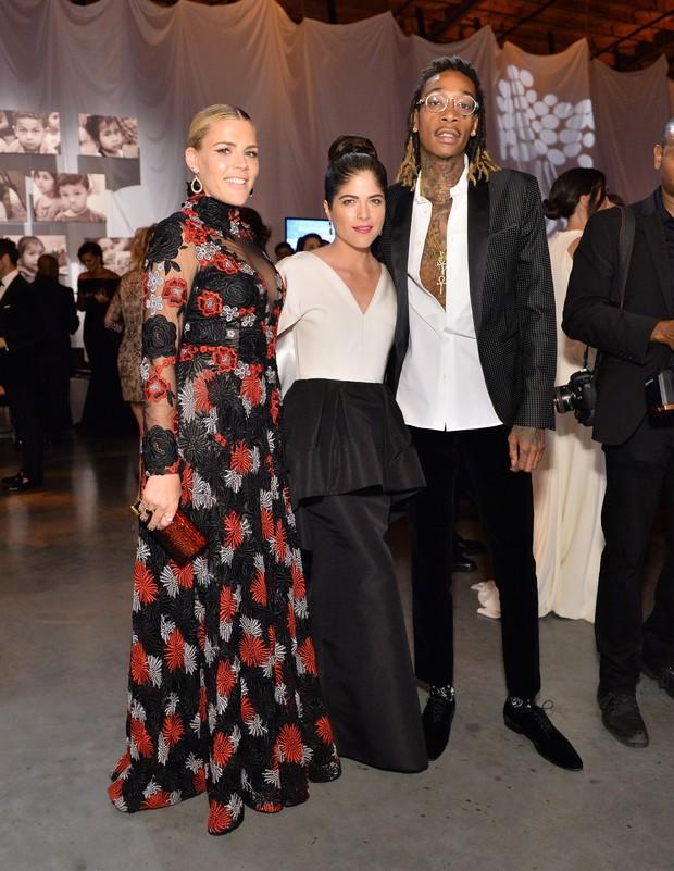 Busy Philipps, Selma Blair e Wiz Khalifa (Foto: Getty Image)