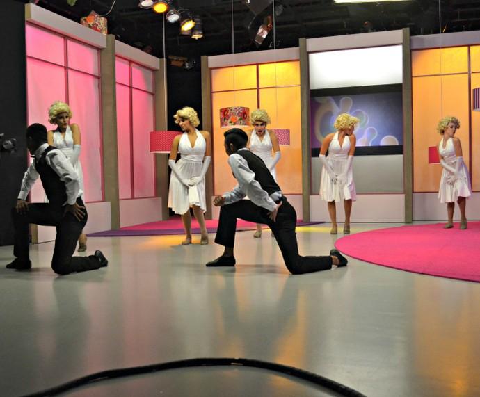 Mistura com Rodaika estúdio Greyce Gross Escola de Dança Disney Sapucaia do Sul (Foto: Maicon Hinrichsen/RBS TV)