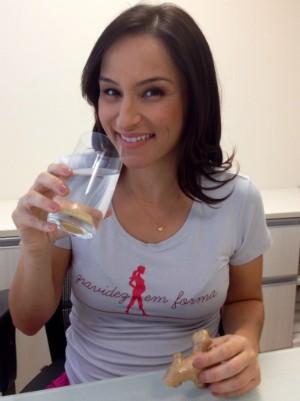 Sonia Campos fala sobre a alimentação na gravidez (Foto: Mateus Castro/RBS TV)