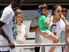 Não acabou! Com filho em trio, Ivete Sangalo arrasta multidão na Bahia