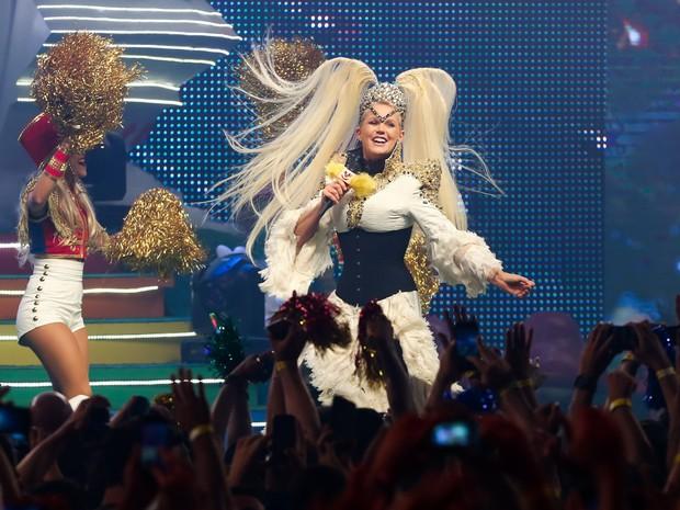 Xuxa em show em São Paulo (Foto: Manuela Scarpa/ Brazil News)