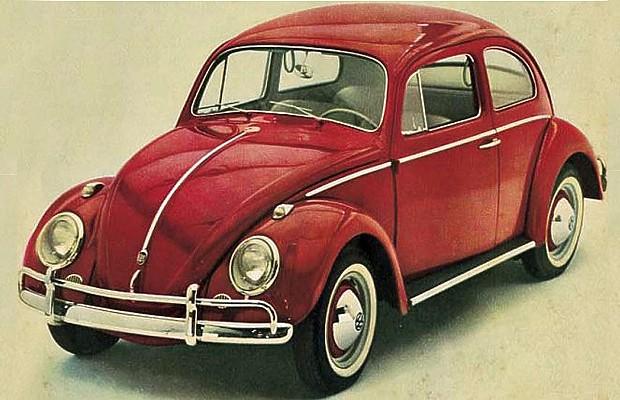 Volkswagen Fusca 1968 (Foto: Volkswagen)