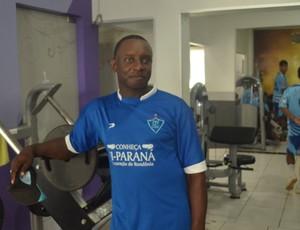 Geraldo da Costa, auxiliar técnico do Ji-Paraná (Foto: Roger Henrique)