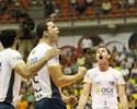 Em noite de apagão, Theo guia Rio de Janeiro às semifinais da Superliga