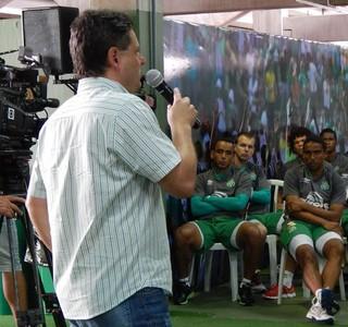 Chapecoense apresentação (Foto: Laion Espíndula)