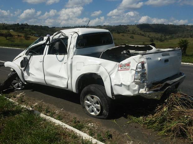 Vítimas foram encaminhadas ao Hospital Regional de Santo Antônio de Jesus (Foto: Marcus Augusto Macedo/Site Voz da Bahia)