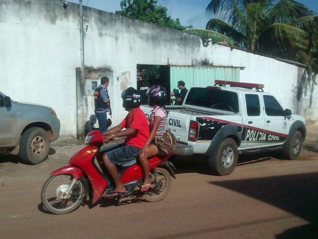 Polícia descobriu pelo menos três casas de jogo do bicho em Porto Velho (Foto: Isis Capistrano/G1)