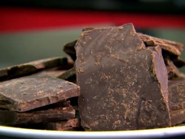 Chocolate feito com cacau gourmet (Foto: Reprodução/Globo Rural)