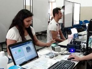 Recadastramento biométrico na Bahia (Foto: Divulgação)