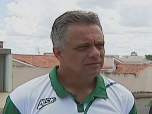 Márcio Pereira técnico Mamoré (Foto: Reprodução/TV Integração)