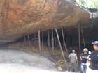 Teto de gruta caiu no momento em que fiéis rezavam, diz testemunha