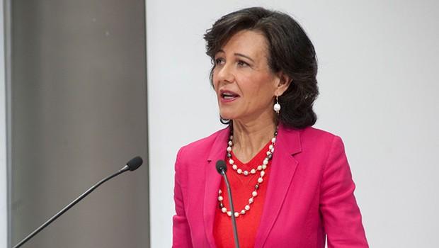 Ana Botín, presidente global do Santander (Foto: Divulgação/Santander)