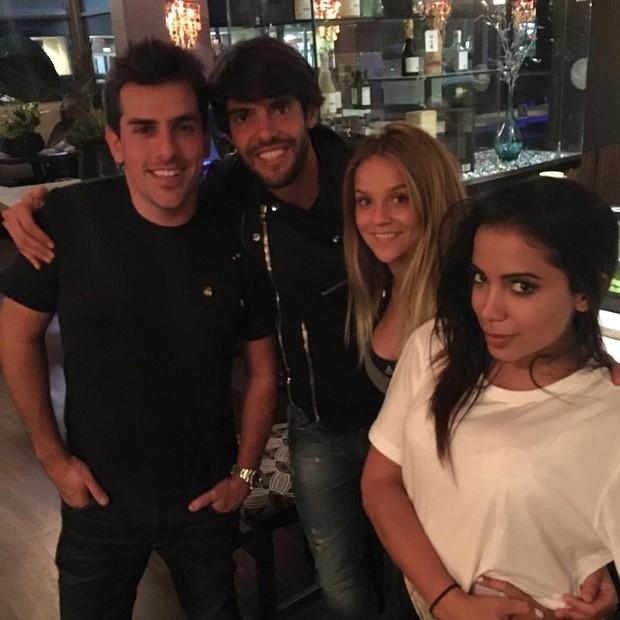 Kaká e Anitta em Orlando (Foto: Reprodução/Instagram)