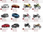 Veja 10 carros e 10 motos mais vendidos em março de 2014