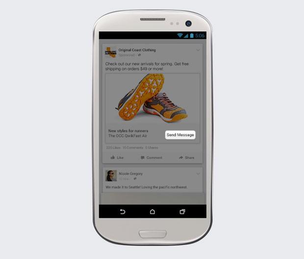 Facebook cria botão