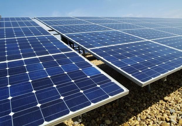 Paineis solares da empresa norueuguesa Scatec Solar (Foto: Divulgação)