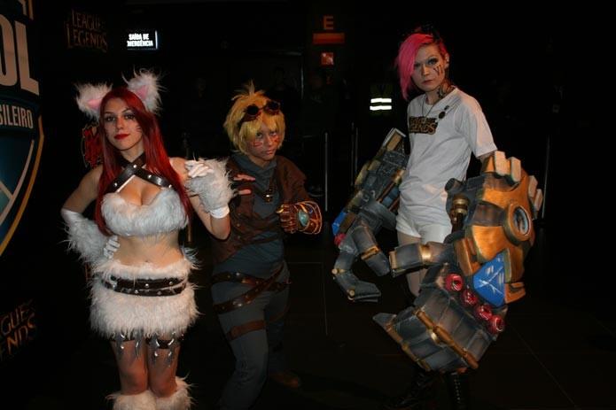 Cosplayers também marcaram presença no evento (Foto: Feipe Vinha)