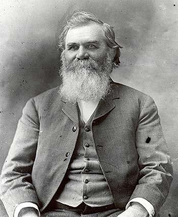D.D. Palmer, inventor da quiropraxia. (Foto: reprodução)