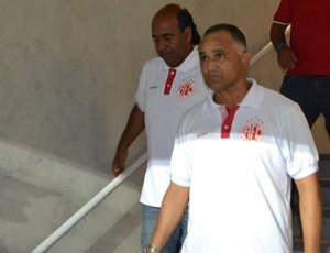 Oliveira Canindé - técnico do América-RN (Foto: Jocaff Souza)