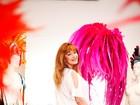 Michelly Xis, a estilista queridinha das famosas para o carnaval 2013, mostra o que vai aprontar na avenida