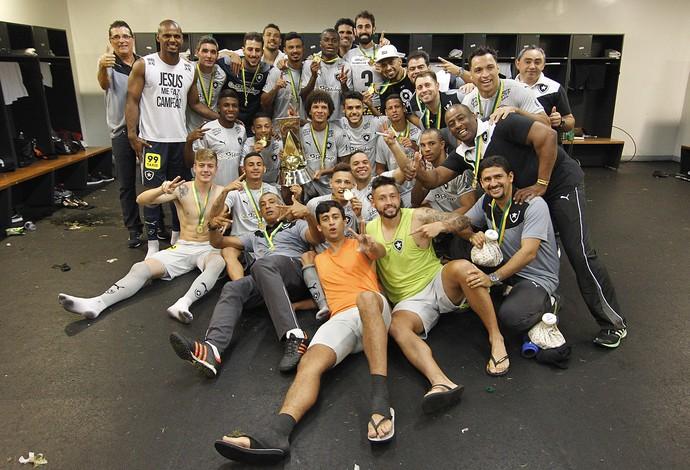 Botafogo vestiário (Foto: Vitor Silva / SSPress/Botafogo)