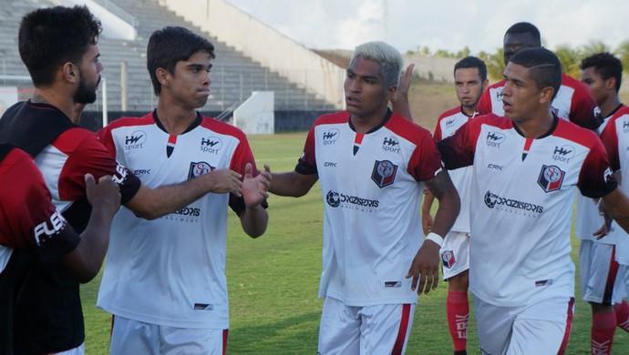 Índio Oliveira Santa Cruz de Natal x Atlético Potengi (Foto: Divulgação)
