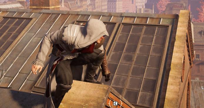 Jacob veste a roupa de Ezio em Assassins Creed Syndicate (Foto: Divulgação/Ubisoft)