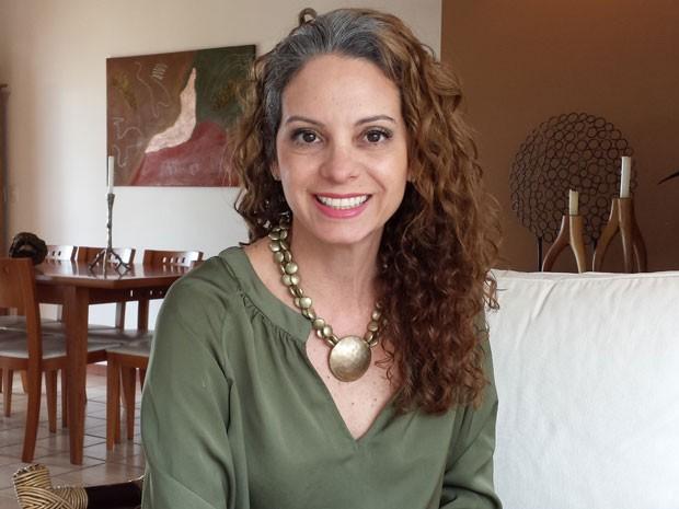 Kika Ribeiro tem um canal no Youtube e aborda o tema do cabelo (Foto: Arquivo Pessoal)