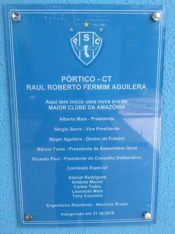 Portico Paysandu (Foto: Victor Maia/Paysandu)