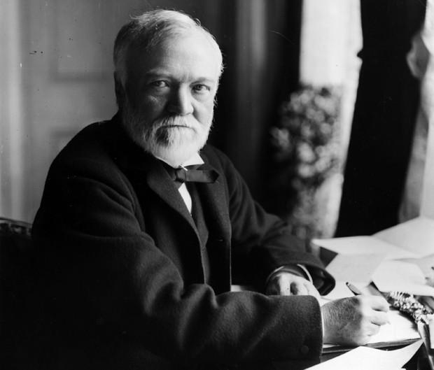 Andrew Carnegie, empresário, filantropo e fundador da Universidade Carnegie Mellon (Foto: Getty Images)