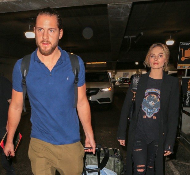 Tom Ackerley e Margot Robbie (Foto: X17)