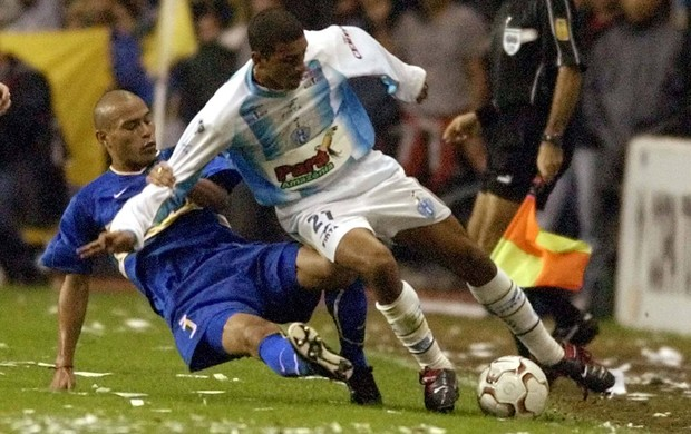 Paysandu e Boca fizeram uma partida disputada em La Bombonera (Foto: Daniel Garcia/AFP)