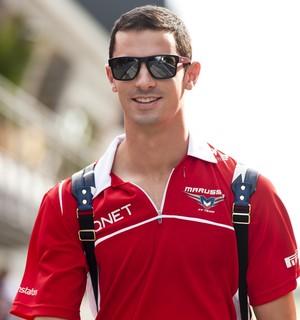 Recém-contratado pela Marussia como piloto de testes, Rossi disputará GP da Bélgica  (Foto: Getty Images)