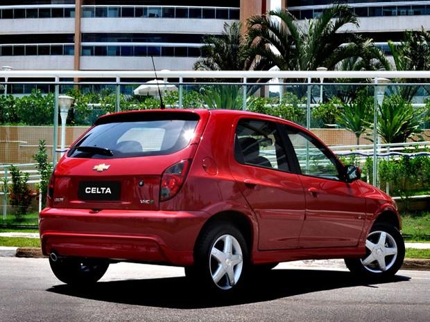 Chevrolet Celta 2012 (Foto: Divulgação)