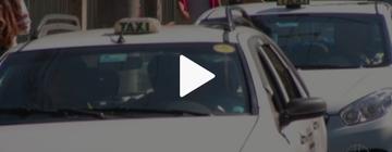 Taxistas passam a evitar ruas de Petrópolis por medo de assaltos  (Reprodução / Inter TV)