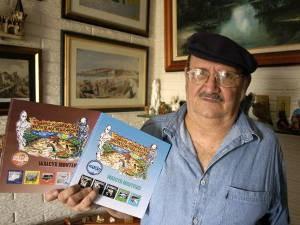 Walcyr Monteiro faz o registro das lendas da Amazônia (Foto: Antônio Silva / Amazônia Jornal)