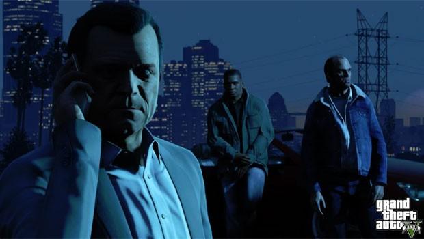 Foto mostra os três personagens que o jogador poderá controlar no game (Foto: Divulgação)