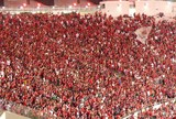 """Com provocação e """"mantra"""", Fla bate 100 mil torcedores na Copa do Brasil"""