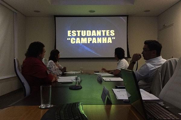 Julgamento foi realizado nas sedes da TV Integração em Uberlândia, Divinópolis e Juiz de Fora (Foto: Raul Neto)